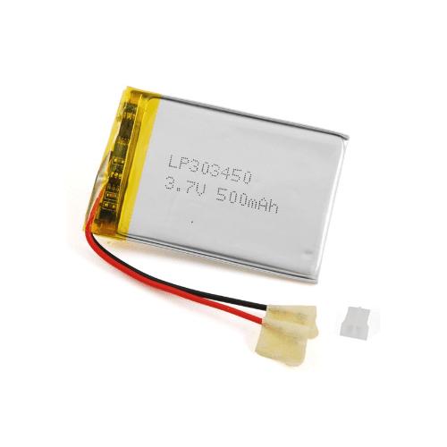 Batteria ai polimeri di litio 3,7V 500MA