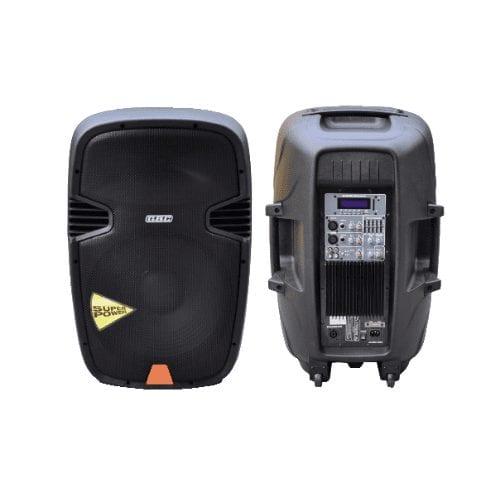 Cassa Amplificata 360W con USB e Bluetooth - GBC
