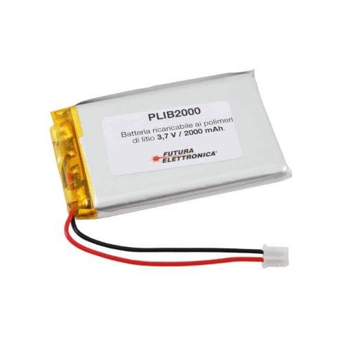 Batteria ricaricabile ai polimeri di litio 2 A