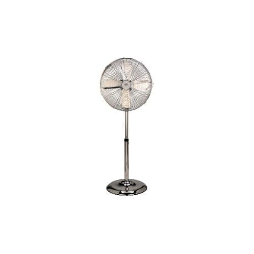 Ventilatore a piantana acciaio 40cm