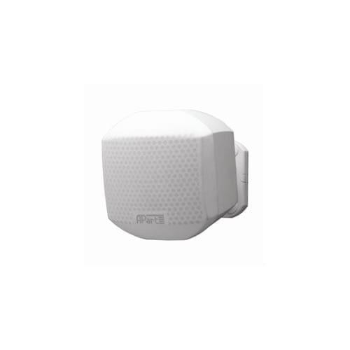 Mini diffusore hi-fi da parete 50W 8 Ohm colore bianco