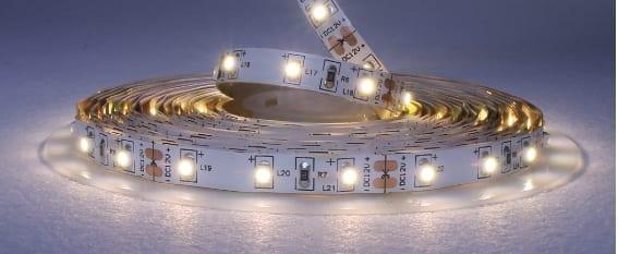 Striscia LED 12V 4,8W/m luce fredda