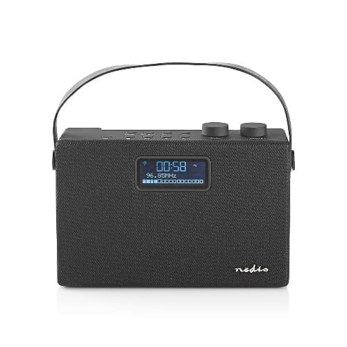 Nedis Radio DAB+ 15W / Bluetooth Nero