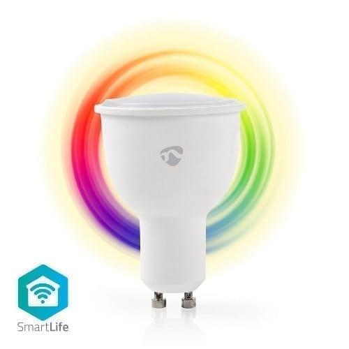 Nedis Lampada GU10 RGB + bianco caldo