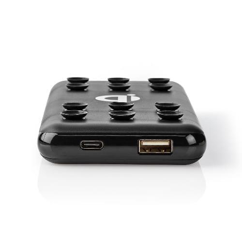 Nedis Powerbank 10000mAh + wireless charging