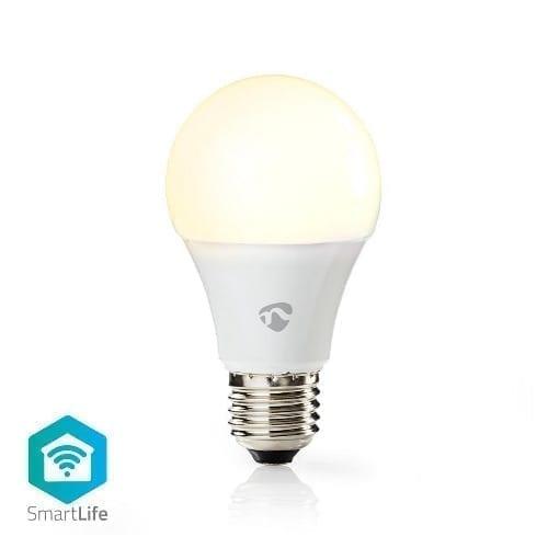 Lampada Wi-Fi Smart 9W luce calda LED Nedis E27