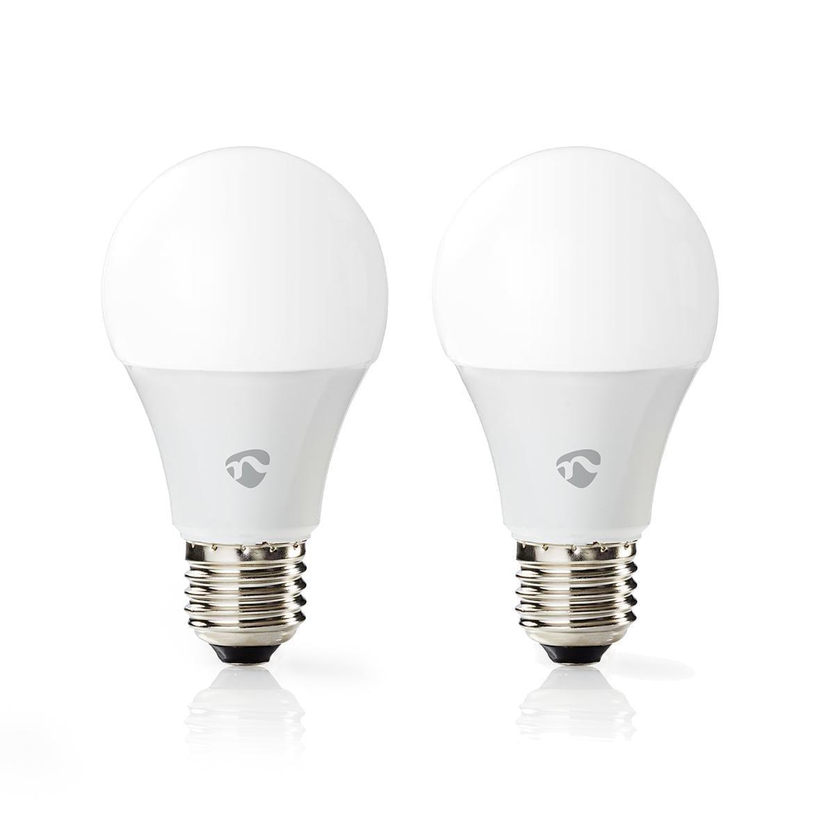 Kit 2 lampade Wi-Fi Smart 9W LED Nedis RGB