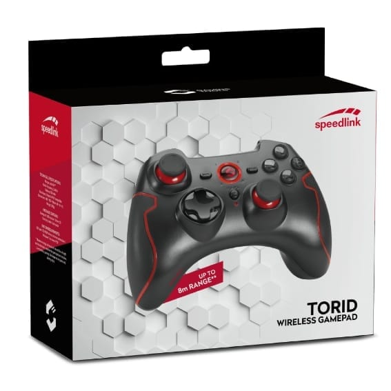 Gamepad per PC wireless Torid Speedlink