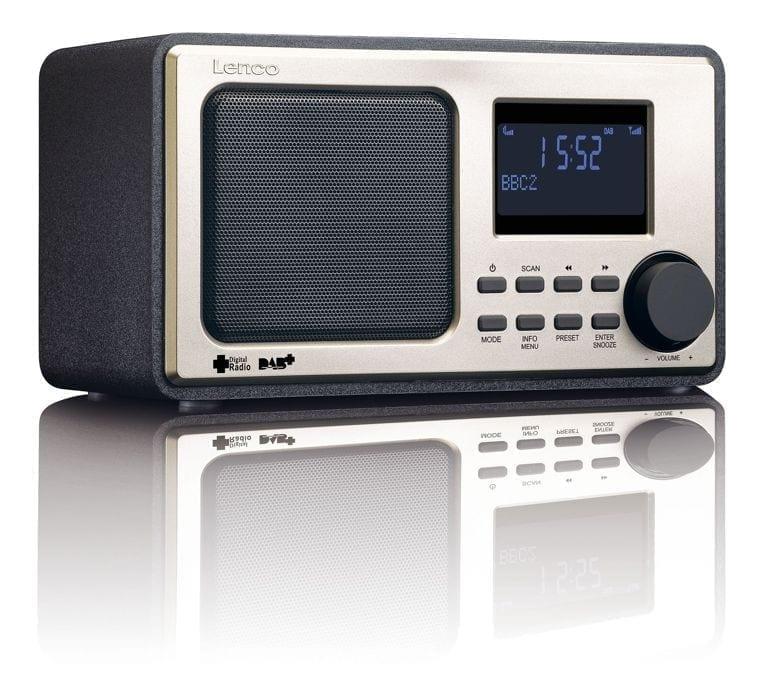 Lenco DAR-010BK DAB+ / FM Radio
