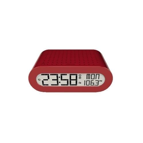 Orologio sveglia Oregon RPM116 rosso