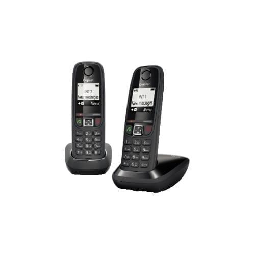 Kit due telefoni cordless Gigaset AS-405 Neri