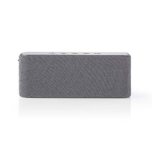 Nedis Altoparlante Bluetooth IPX4 2x30W Grigio