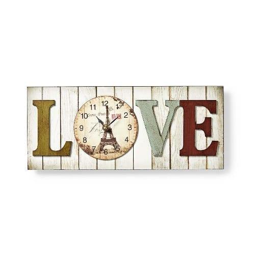 """Nedis Orologio da parete """"Love"""""""