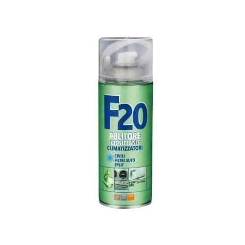 F20 Igienizzane Spray per climatizzatori domestici ed auto
