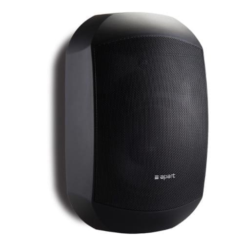 Apart Mask 6 Diffusore Hi-Fi da parete 150W 100V / 8 Ohm Nero Coppia
