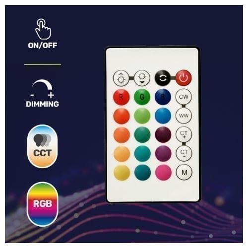 HeyColor telecomando IR RGB CCT per lampadine