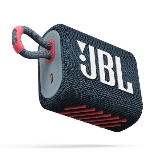 JBL GO 3 Blu - Rosa